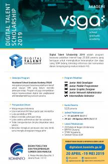 Digital Talent Scholarship 2019